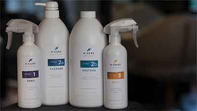 E-Cure Hair Products Demo